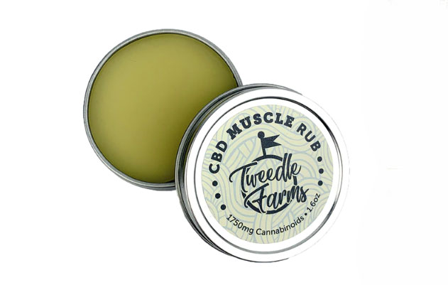Tweedle Farms CBD Muscle Rub